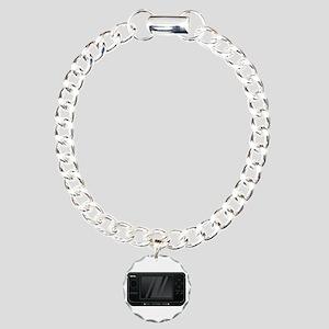 Need coffee gps x Charm Bracelet, One Charm