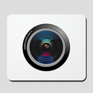 Camera Lens Mousepad