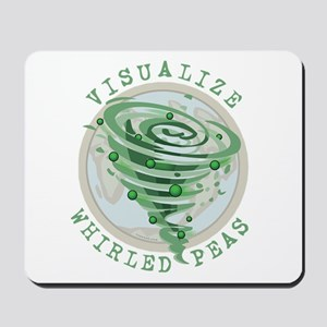 Whirled Peas Mousepad