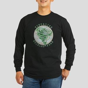 Whirled Peas Long Sleeve Dark T-Shirt