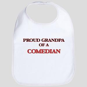 Proud Grandpa of a Comedian Bib