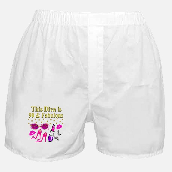 90TH DIVA Boxer Shorts