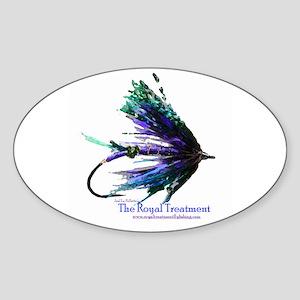 Royal Treatment Oval Sticker