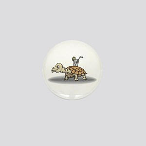 Tortoise with Lemonade Mini Button