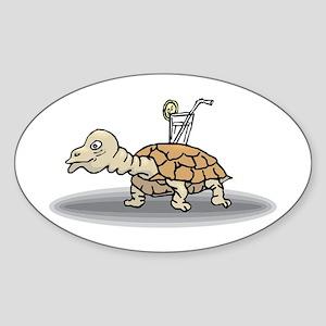 Tortoise with Lemonade Sticker