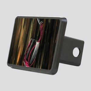 Fine Wine Rectangular Hitch Cover