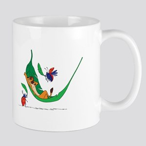 The Lion King on leaf Mugs