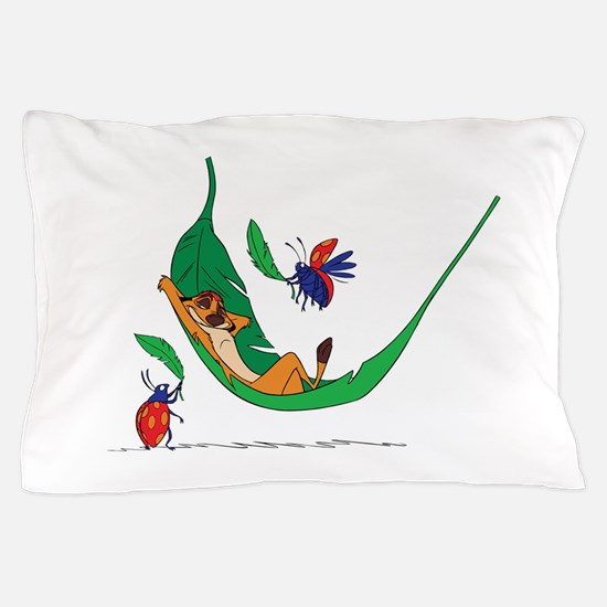 The Lion King on leaf Pillow Case
