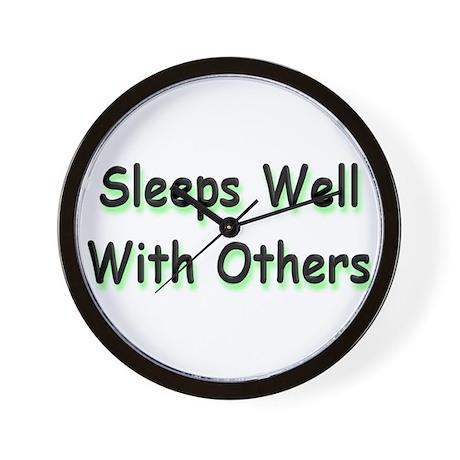 Sleeps Well Wall Clock