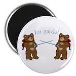 Teddy Bear Fencers Magnet