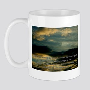 Teilhard de Chardin quote Mug