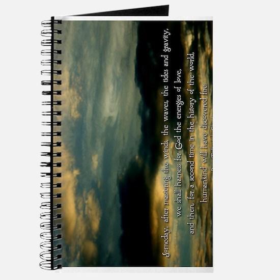 Teilhard de Chardin quote Journal