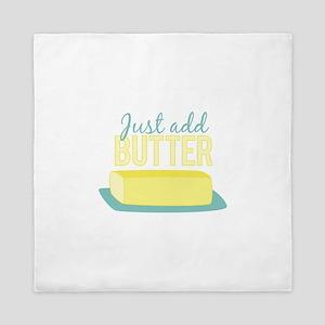 Just Add Butter Queen Duvet