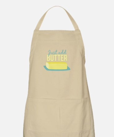 Just Add Butter Apron