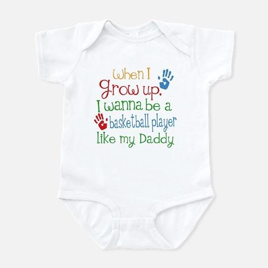 Basketball Player Like Daddy Infant Bodysuit