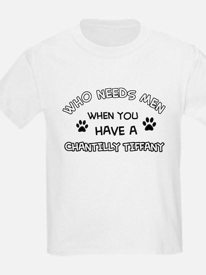 Chantilly Tiffany Cat Designs T-Shirt