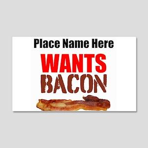 Wants Bacon Wall Decal