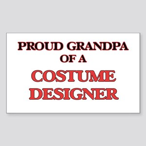 Proud Grandpa of a Costume Designer Sticker