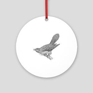 Cuckoo Round Ornament