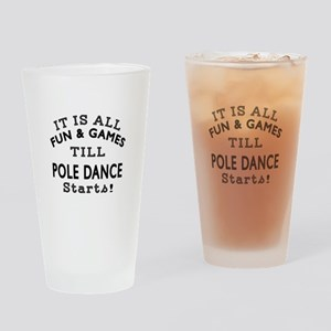 Pole dancing Dance Designs Drinking Glass