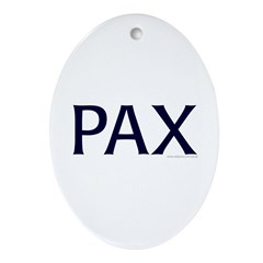 PAX Oval Ornament