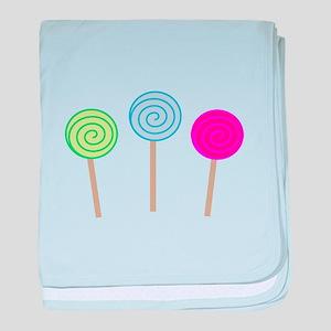 Sweet Lollipops baby blanket