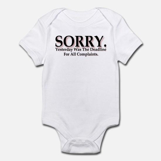 Complaints Infant Bodysuit