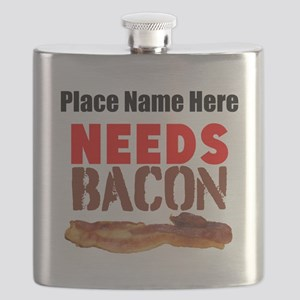 Needs Bacon Flask