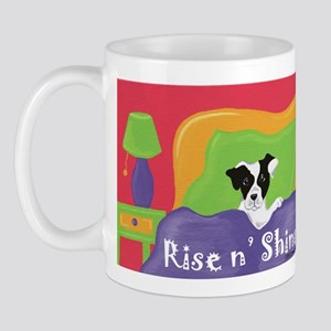 Rise and Shine Black Jack Mug