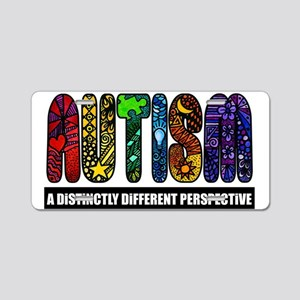 BEST Autism Design Aluminum License Plate