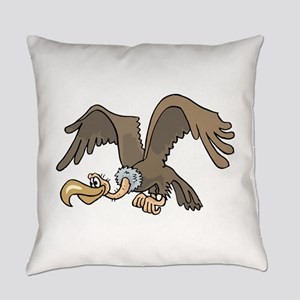 Flying Vulture Everyday Pillow