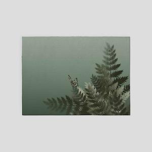 Fern Meadow Mist 5'x7'Area Rug