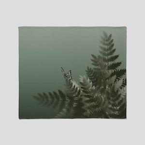 Fern Meadow Mist Throw Blanket