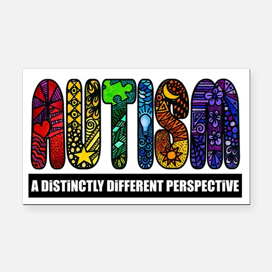 Unique Special education Rectangle Car Magnet