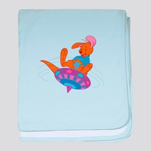 Winnie the Pooh Roo on top baby blanket