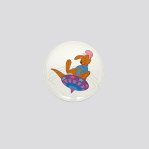 Winnie the Pooh Roo on top Mini Button
