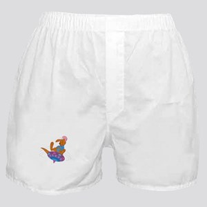 Winnie the Pooh Roo on top Boxer Shorts