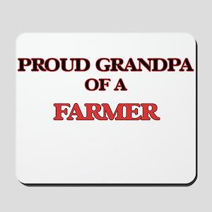 Proud Grandpa of a Farmer Mousepad