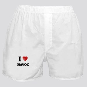 I love Havoc Boxer Shorts