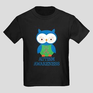 Autism Awareness Puzzle Owl T-Shirt