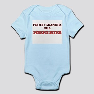 Proud Grandpa of a Firefighter Body Suit