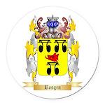 Rosgen Round Car Magnet
