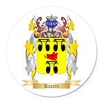 Rosetti Round Car Magnet
