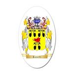 Rosetti 35x21 Oval Wall Decal