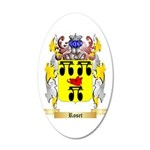 Roset 20x12 Oval Wall Decal