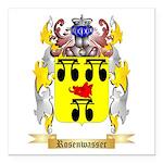 Rosenwasser Square Car Magnet 3