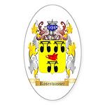 Rosenwasser Sticker (Oval 50 pk)
