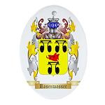 Rosenwasser Oval Ornament
