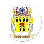 Rosenvasser Round Car Magnet