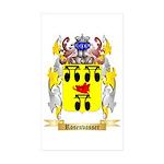 Rosenvasser Sticker (Rectangle 10 pk)